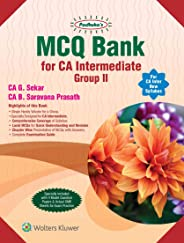 MCQ Bank for CA Intermediate Group II for CA Inter New Syllabus