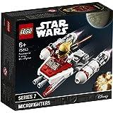 LEGO Star Wars - Microfighter: Ala-Y de la Resistencia, Juguete de la Película Guerra de las Galaxias Episodio 9, con Torreta