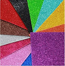 PPM™ A4 Glitter Foam pack of 10 sheets 2mm thick assorted color.