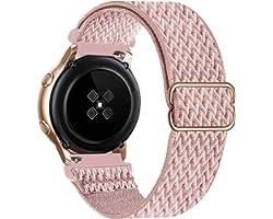 GBPOOT 20mm Bracelet Compatible avec Samsung Galaxy Watch 4/Watch 4 Classic/Watch Active 2(40mm/44mm)/Watch 3 41mm/Watch 42mm