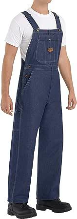 Red Kap Men's Red Kap® Men's Denim Bib Overall Denim Bib Overall