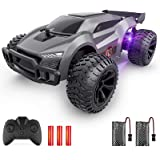 EpochAir Remote Control Car - 2.4GHz High Speed Rc Cars, Offroad Hobby Rc Racing Car with Colorful Led Lights and Rechargeabl