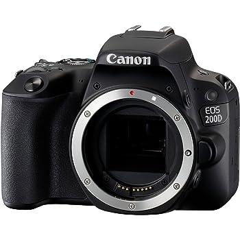 Canon - EOS 200D Reflex numérique - Boîtier Noir