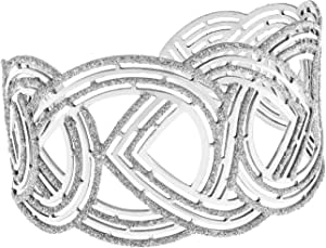 Stroili - Bracciale in argento 925 rodiato e glitter per Donna