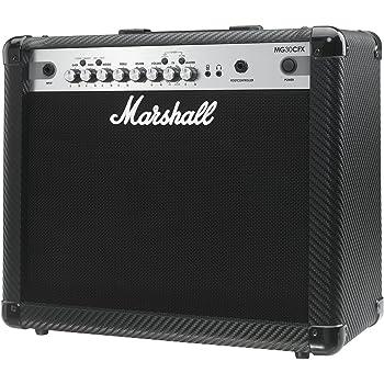 Marshall MG30CFX 30 Watt Guitar Amp with Effects Carbon Fibre Finish