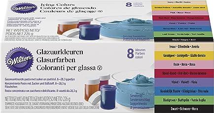Kit 8 colori alimentari in gel Wilton 226.4 g