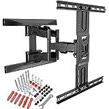 Ergosolid Support Mural TV Orientable Robuste pour écrans 45-75 Pouces LED LCD Support TV avec VESA Max de 600 x 400 mm, jusq