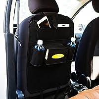 Autofy Universal 7 Pocket Car Auto Seat Back Organizer Back Seat Organiser Mobile Pen Tissue Lunch Box Holder Multi…
