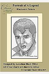 Portrait of A Legend Blackwork Pattern Kindle Edition