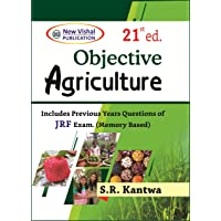 Objective Agriculture By SR Kantwa 21st Edition-(Latest Edition-2020)