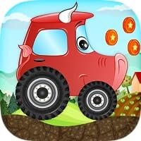 Kinder Auto-Rennspiel – Beepzz Tier Auto lustiges Abenteuer