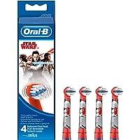 Oral-B Brossettes De Rechange Pour Brosse À Dents Électrique Star Wars x4