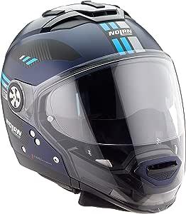 Nolan Herren N70 2 Gt Bellavista N Com Flat Imperator Blue L Helmet L Auto