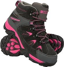 Mountain Warehouse Rapid Stiefel für Kinder - Regenstiefel,Wanderschuhe, Robuste Laufsohle Mädchen Schuhe, Wanderstiefel, Gesteppter Knöchel Jungs Schuhe