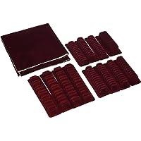 Rayen 6314 Range couverts pour ménagère - rouge - adaptable et autocollant
