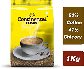 Continental Strong Coffee Powder, 1Kg Bag