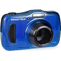 Praktica Luxmedia WP240 Waterproof Digital Compact Camera - Blue (20 MP,4x Optical Zoom)