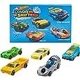 Hot Wheels Shifters Pack de 5 coches que cambian de color, modelo surtido (Mattel GMY09)