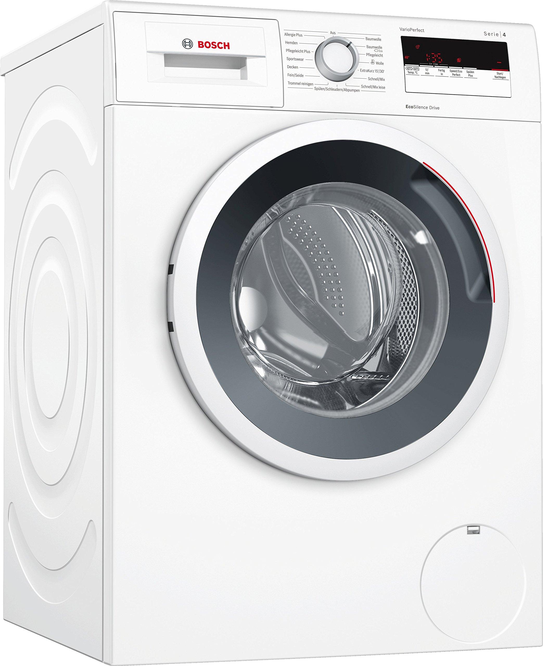 Bosch WAN28121 Serie 4 Waschmaschine Frontlader, 7 kg Füllmenge, EcoSilence Drive, weiß