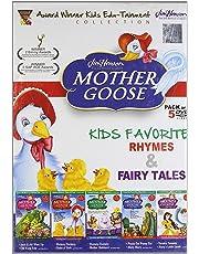 Mother Goose (Set of 5 VCDs- Kids Favorite Rhymes & Fairy Tales)