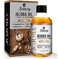 Huile de Jojoba Soin pour Cheveux, Corps, Peau 100% Bio Pure et Naturelle Pressée à froid 120ml