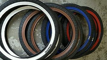 Savage Bmx Bike Tyres 20 X 2 3 Freestyle Tyre Pair Choose