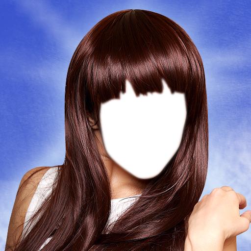 Frauen-Haar-Art-Foto-Montage