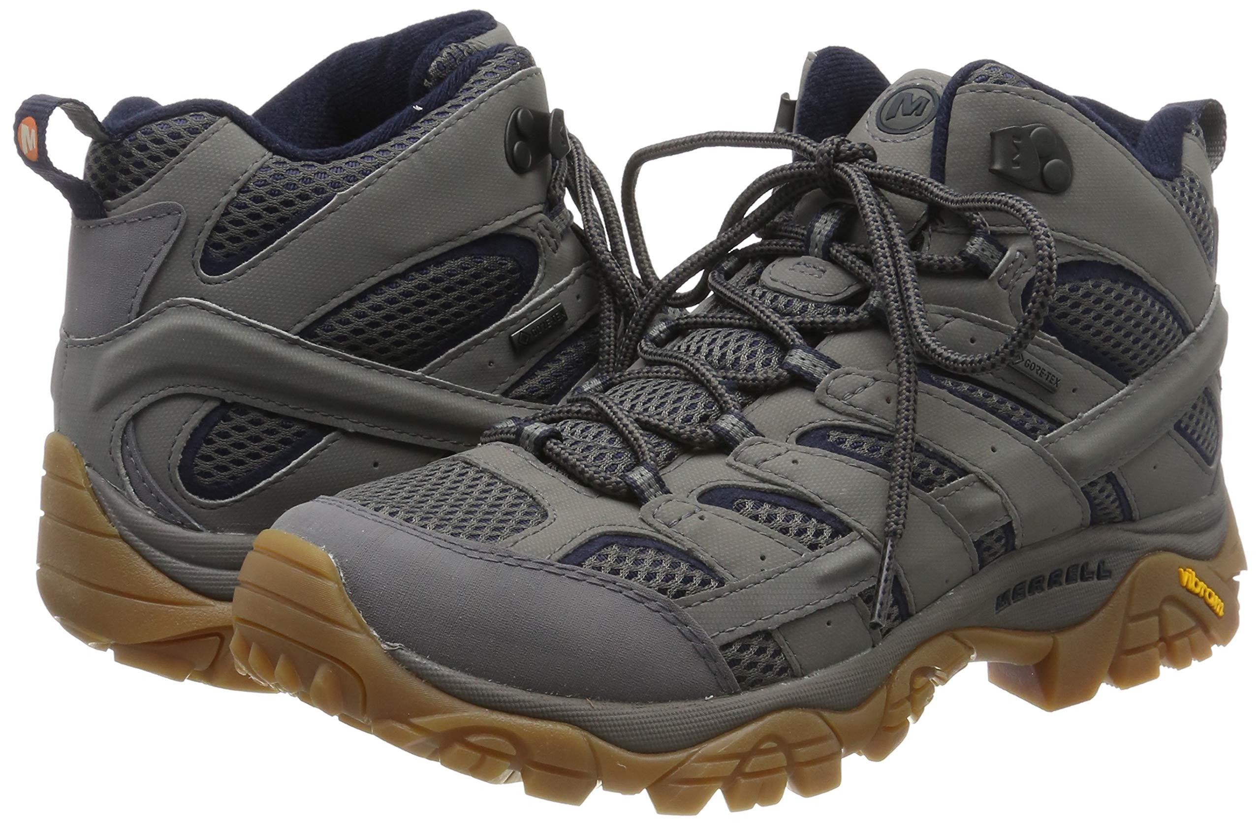 Merrell Men's Moab 2 Mid Gore-tex High Rise Hiking Shoes 5