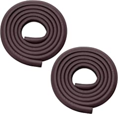 Store2508 Child Safety Strip Cushion with Strong Fibreglass Tape (Brown) - 2 Rolls