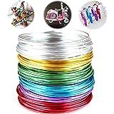 Aluminium Sieraden Ambachtelijke Draad Flexibele Metaaldraad DIY Craft Art Wire voor Het Maken Van Sieraden, Ornamenten En Do