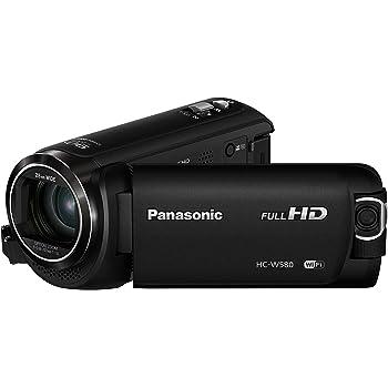 Panasonic HC-W580EG-K Full HD Camcorder (Full HD, 50x Opt. Zoom, 2,2 MP BSI Sensor, 28 mm Weitwinkel, Opt. 5-Achsen Bildstabilisator Hybrid Ois+) Schwarz