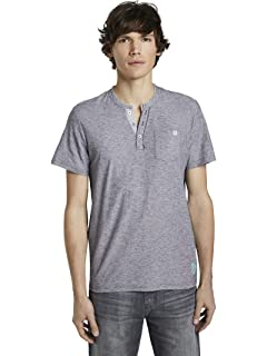 Tom Tailor Struktur T-Shirt Uomo