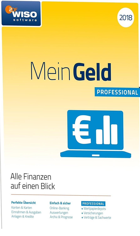 WISO Mein Geld Professional 2018 [Online Code]