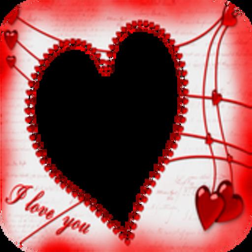 Valentine Day Photo Frames (Dove Frame)