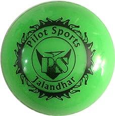 WindBall/Hollow Ball Cricket Training Ball Color Green (Pack of 6)