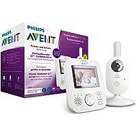 Philips AVENT SCD833/26 Video-Babyphone, weiß