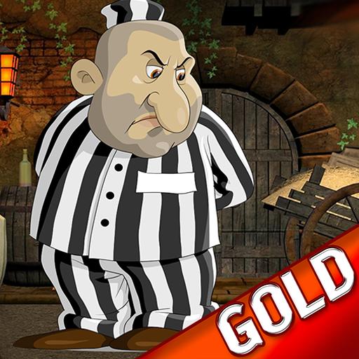 Juge, Jury and Executioner : der Häftling Slave Ende der Tage - Gold Edition (Polizei-statue)