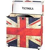 Victrola Record Koffer LP - Britische Flagge