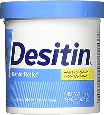 Desitin Rapid Relief Creamy Nappy Cream - 454G (16oz)