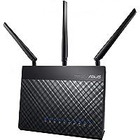 Asus RT-AC68U Routeur Wi-Fi Ai mesh / AC 1900 Mbps Double Bande avec Beamforming AiRadar, Sécurité AiProtection à Vie par TrendMicro