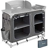 TecTake 800585 - Cucina da Campeggio Alluminio, Facile Montaggio, Minimo Peso - Modelli Differenti