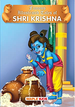 Krishna Tales (Illustrated) - for children