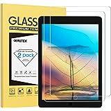 Gerutek [2 Pezzi] Pellicola Protettiva Vetro Temperato per iPad 9,7,[Ultra Trasparente][Anti-graffio][Bubble-Free][Durezza 9H