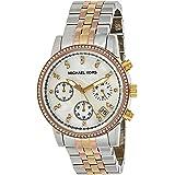 Michael Kors Ritz Women's White Dial Stainless Steel Band Watch - MK5650