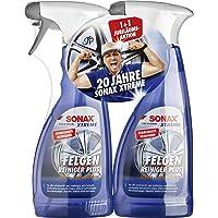 SONAX 2x XTREME Felgenreiniger PLUS (500 ml) effiziente & säurefreie Reinigung aller Leichtmetall- und Stahlfelgen sowie…