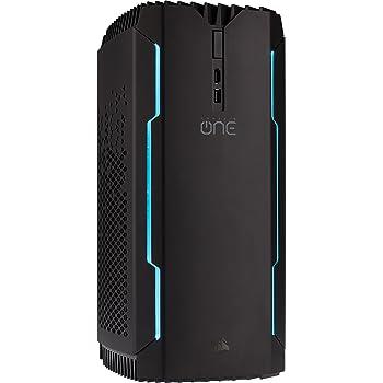 Corsair ONE PRO Ti, Processeur Intel Core i7-7700K à Refroidissement liquide, Carte Graphique GTX 1080 Ti à Refroidissement Liquide, SSD M.2 480 Go, Disque dur 2 To, DDR4 16 Go - Version EU