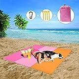 MMTX Impermeable Alfombras de Playa, Portáti lLigera Manta Picnic Manta Playa Toalla Playa Actividad Camping Accesorios Aplic