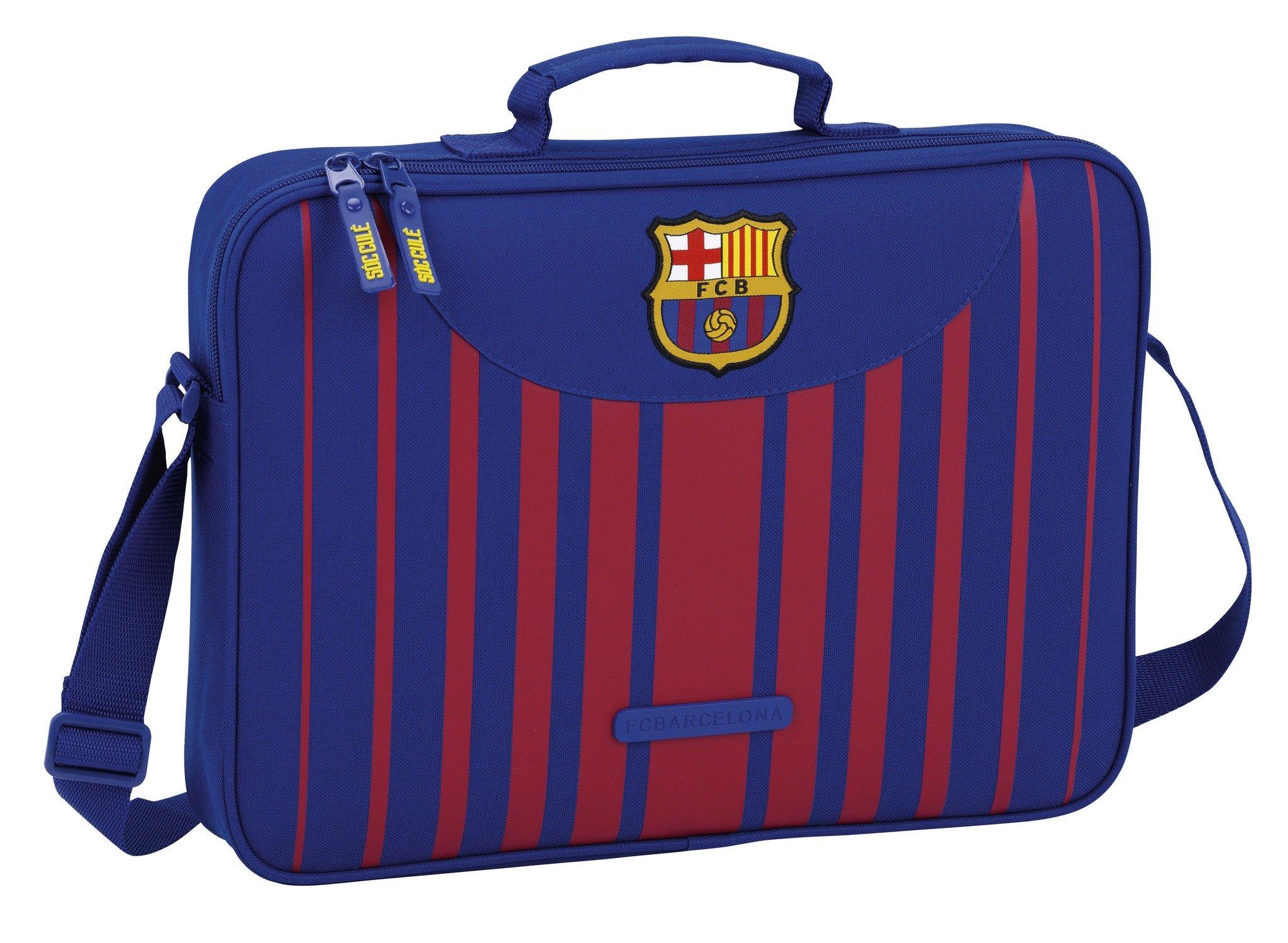 SAFTA Maletín F.C. Barcelona 17/18Oficial para Ordenador 380x60x280mm
