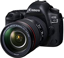 Canon EOS 5D Mark IV 30.4 MP Digital SLR Camera (Black) with EF 24-105mm is II USM Lens Kit