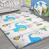 Mammoth® Baby Play Mat, Extra Large BPA Free Kids Crawling mat, Waterproof Foldable Floor Baby Crawling Mat Foam for…